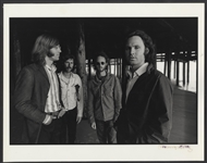 The Doors Original Henry Diltz Signed 14 x 11 Laminated Photograph