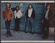 The Doors Original Henry Diltz Signed Laminated 14 x 11 Photograph