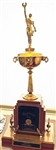 Richard Petty Original 1973 Daytona 500 Governors Cup Trophy