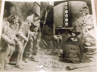 Wizard of Oz Original Publicity Still Photograph Signed & Inscribed by Three Cast Members