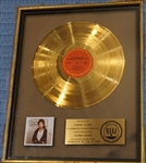 "Bruce Springsteen ""Darkness On The Edge Of Town"" Original RIAA Gold Album Award Presented to Clarence Clemons"