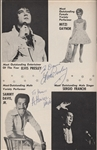 "Elvis Presley Signed & Inscribed ""Fabulous Las Vegas"" Magazine"