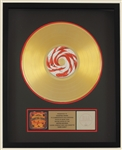 "Counting Crows ""Hard Candy"" Original Gold Album, C.D. and Cassette Award Presented to the Counting Crows"