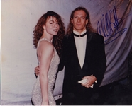 Michael Bolton Signed Photograph with Mariah Carey