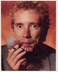 Sex Pistols Johnny Rotten Signed Photograph