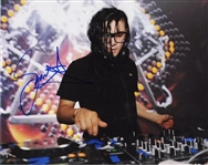 Skrillex Signed Photograph
