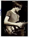 Television Tom Verlaine Signed Photograph