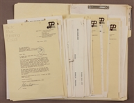 Jacksons Original 1976 Japan Contract and Letter File
