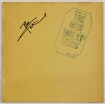 "Pete Townshend Signed ""The Who Live at Leeds"" Album"