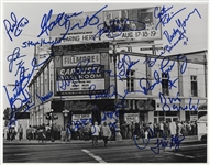 "Fillmore West ""Carousel Ballroom"" Photograph Signed by 21 Performers"