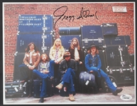 Gregg Allman Signed Allman Brothers Band Fillmore East Photograph