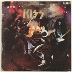 "Ace Frehley Signed ""KISS - Alive!"" Album"