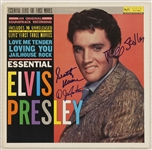 "Scotty Moore, DJ Fontana and Jerry Stoller Signed ""Essential Elvis Presley"" Album"