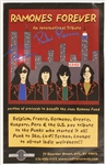Richie Ramone & Tommy Ramone Signed Ramones Forever Tribute Concert Poster