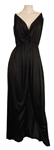 Janet Jackson Owned & Worn Long Black Sleeveless Dress