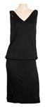 Janet Jackson Owned & Worn Black Sleeveless Dress