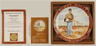 Buddy Holly Commemorative Plate