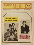 "Jackson 5 and Sammy Davis, Jr. Original ""Tahoe Action"" News Magazine"