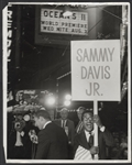 "Sammy Davis, Jr. Original ""Oceans 11"" Premiere Stamped Wire Photograph"