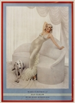 "Richard Avedon Signed ""Marilyn Monroe as Jean Harlow"" Original First Edition Poster"