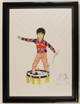 "John Entwistle Original Signed Artwork of<br>""The Who"""