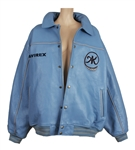 "Alicia Keys ""How Come You Dont Call Me Anymore"" Video Worn Custom Blue Leather 2002 Tour Jacket"