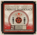"Guns N Roses ""Chinese Democracy"" Original RIAA Gold and Platinum C.D. Award"