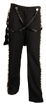 Alicia Keys NBA All-Star Game Stage Worn Marc Jacobs Pants with Black Sequin Suspenders