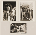 The Ramones Original Stamped Photographs