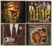 Movie/Broadway and TV Cast Signed C.D.s: Little Shop of Horrors,  Nine, Grease and Glee