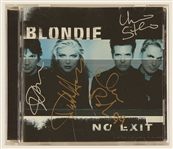 "Blondie Signed ""No Exit"" C.D. Insert"