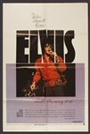 "Elvis Presley ""Thats The Way It Is"" Original One Sheet Movie Poster"
