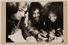 Jimi Hendrix Experience Original Ron Raffaelli Signed and Stamped Photograph