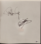 KISS Gene Simmons & Peter Stanley Signed Auction Catalog