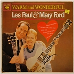 "Les Paul Signed ""Warm and Wonderful"" Album"