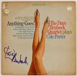 "Dave Brubeck Signed ""Anything Goes"" Album"
