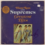 "Diana Ross and Mary Wilson Signed Supremes ""Greatest Hits"" Album"