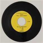 """The Godfather"" Original Radio Spot Announcements 45 Record"