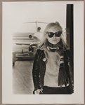 Blondie Deborah Harry 16 x 20 Original Chris Stein Silver Gelatin Print