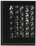Frank Zappa Original Linda McCartney Wire Stamped 11 x 14 Contact Sheet