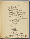 "Elvis Presleys Hand Annotated Personally Owned ""Leaves of Moryas Garden"" Hardcover Book Dedicated and Given To His Girlfriend Sheila Ryan"