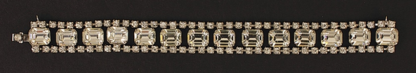"Marilyn Monroes Owned & Worn ""Asphalt Jungle"" Austrian Crystal Bracelet"