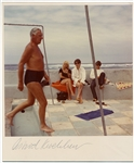 """Beatles On The Beach"" Rare Original 1963 Photograph Signed by Astrid Kirchherr"