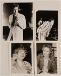 Johnny Rotten Original Stamped Photographs (4)