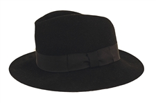 "Michael Jackson ""Billie Jean"" Stage Worn Black Fedora"