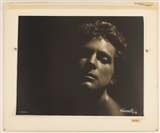 "Lindsay Buckingham Original George Hurrell Signed and Dated  ""Law and Order"" Album Back Cover Photographic Original Artwork From The Collection of Larry Vigon"