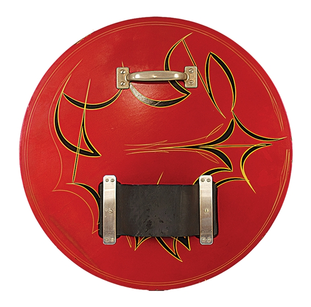 Bruce Lees Personally Designed & Used Custom  Kicking & Punching Shield