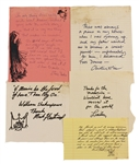 "Fleetwood Mac ""The Chain"" 25 Years Box Set 1992 Band Members Handwritten Quotes From The Collection of Larry Vigon"