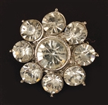 Marilyn Monroes Rhinestone Crystal Brooch from Joe DiMaggio