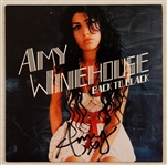 "Amy Winehouse Signed ""Back to Black"" C.D."